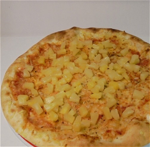 Foto Pizza Ananas
